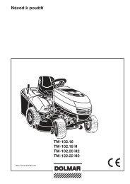 Návod k použití - Katalog - Dolmar
