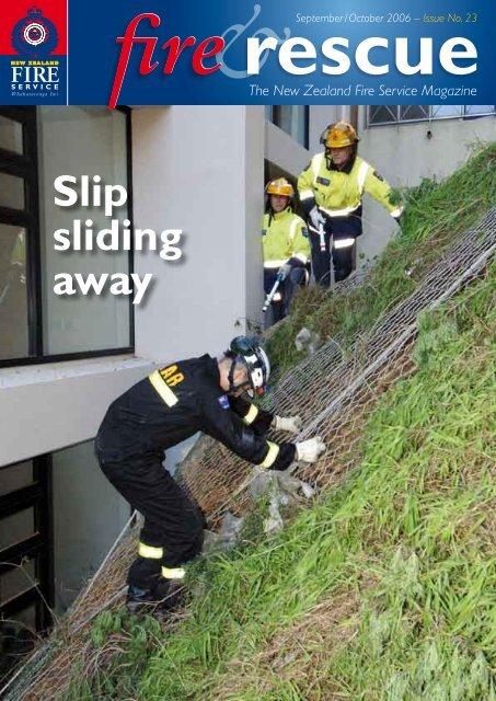 Slip Sliding Away New Zealand Fire Service