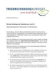 Dichtes Gedränge bei Osterlämmern und Co ... - Friedrichskoog