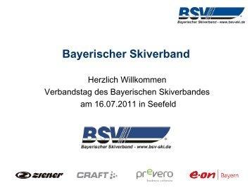 verhindert - Bayerischer Skiverband
