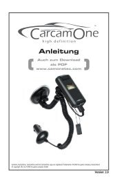 Anleitung - CamOneTec a Division of ACME the game company ...