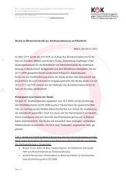 Studie zu Menschenhandel zur Arbeitsausbeutung veröffentlicht ...