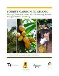 Legal and Regulatory Frameworks for Mangrove ... - Forest Trends