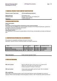 Sicherheitsdatenblatt ATS Fixer alkalisch - Fotoimpex