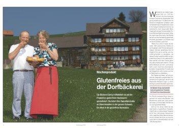 Glutenfreies aus der Dorfbäckerei - Hotel & Gastro Union