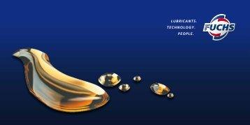 FUCHS Imagebroschüre 2012 - fuchs europe schmierstoffe gmbh