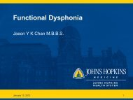 Functional Dysphonia