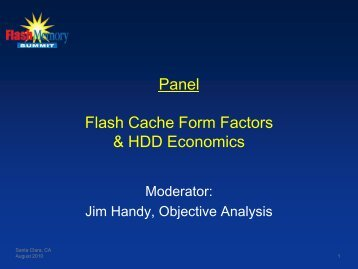 Flash Memory as Cache for Client Computing Applications