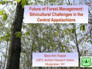 Future of Forest Management - School of Forest Resources
