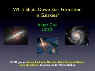 What Shuts Down Star Formation in Galaxies? - Berkeley ...