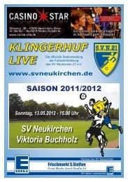 Stadionheft Nr.14 - SV Neukirchen