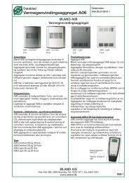 Varmegenvindingsaggregat A06 A06-DK-010910-1 - Øland Online