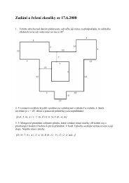 Zadání a řešení zkoušky ze 17.6.2008 - HomeL