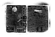 OCEAN CITY NEWS - On-Line Newspaper Archives of Ocean City