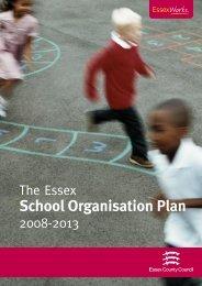 The Essex School Organisation Plan 2008 - 2013 - Rochford District ...