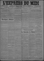 11 janvier 1912 - Bibliothèque de Toulouse
