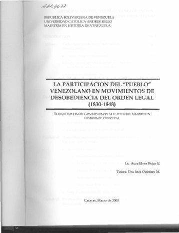 Tesis en pdf - Libros, Revistas y Tesis - Universidad Católica Andrés ...