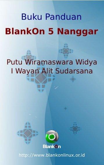 Dokumentasi BlankOn 5 (Nanggar)