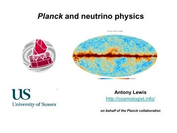 Planck and neutrino physics