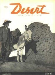 194703-DesertMagazin.. - Desert Magazine of the Southwest
