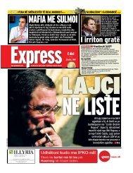 MAFIA ME SULMOI - Gazeta Express