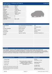 Skoda Octavia 1.6 Ambiente AUTOMATIK ... - Autohaus Schulze