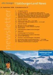Nummer 37/2006 - SalzburgerLand Netoffice