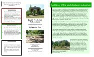 Printable Self Guided Tour of the Arboretum - Frederick County ...