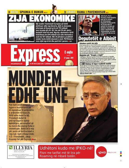 ZIJA EKONOMIKE - Gazeta Express