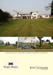 church cottage, duddon, nr. tarporley, cheshire, cw6 ... - Fine & Country