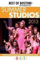 Download Brochure! - Boston Children's Theatre