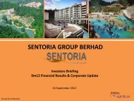 Sentoria FY12 Briefing Presentation Slides - ChartNexus