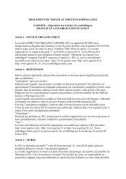 REGLEMENT DU JEU CONCOURS - Garnier