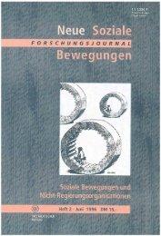 Vollversion (6.54 MB) - Forschungsjournal Soziale Bewegungen