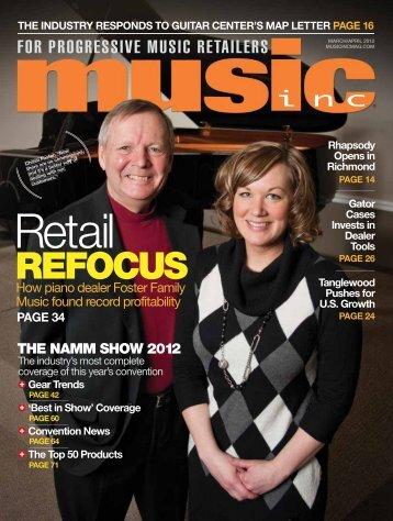 REFOCUS - Music Inc. Magazine