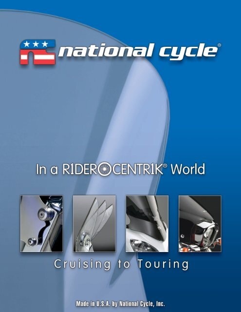 2011 National Cycle Metric Accessories Catalog - Lidor.pl