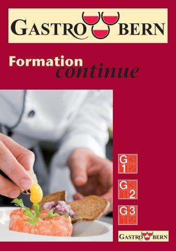 Formation continue - GastroBern