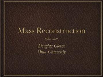 Douglas Clowe Ohio University