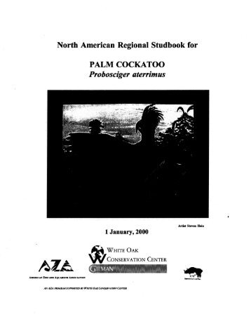 North American Regional Studbook for PALM COCKATOO ... - Library