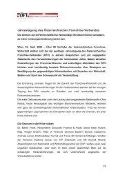 Diesen Artikel als PDF herunterladen - Österreichischer Franchise ...