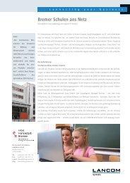 Bremer Schulen ans Netz - LANCOM Systems GmbH