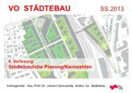 Städtebauliche Planung VO Städtebau SS 13 - lamp.tugraz.at