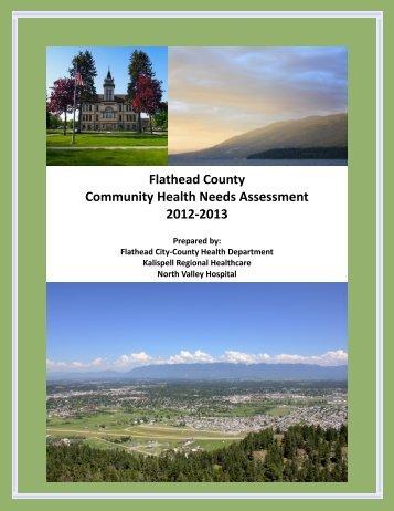 Community Health Assessment 2013 - Flathead County, Montana