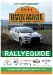 Marita Wöller Tel: 0173 - 982 45 99 - High Forest Rallye Festival
