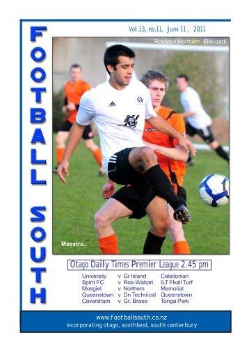 11th June 2011 - Football South