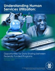 Understanding human services utilization - University of Nebraska ...