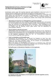 Gebäudebrüterschutz an Kirchen im Zuge von ... - Fledermaus-Bayern