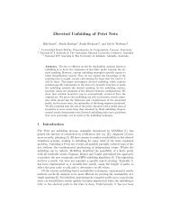 Directed Unfolding of Petri Nets - Engineering & Computer Science ...