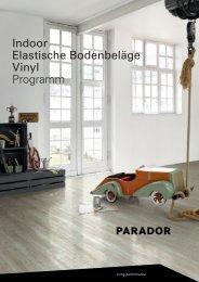 Indoor Elastische Bodenbeläge Vinyl Programm - Parador