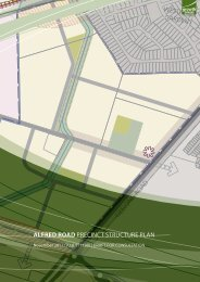 Alfred Road Precinct Structure Plan - Growth Areas Authority